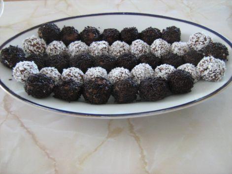 csokis golyó