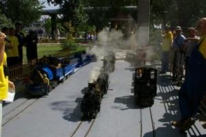 Kerti vasutak startja Forrás: http://www.mavnosztalgia.hu