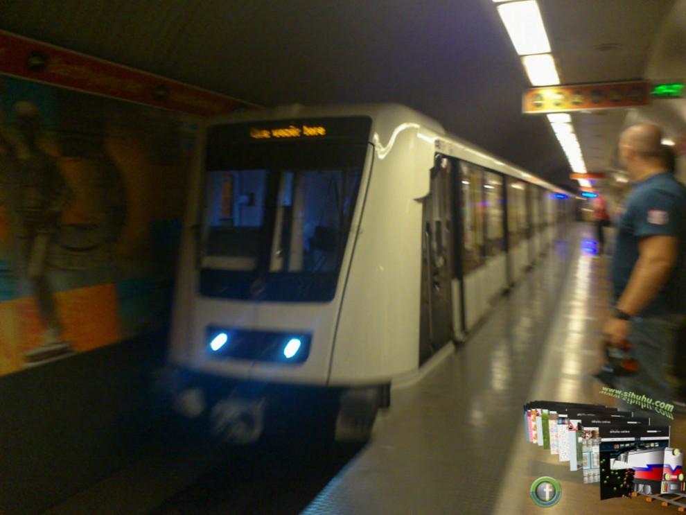 Alstom - Déli-pályaudvaron