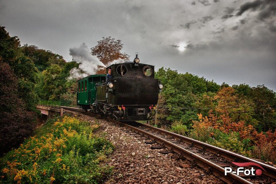 Az esti szolgálatos vonat (Fotó: P-foto team)