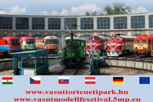 Vasúttörténeti park, modellvasút