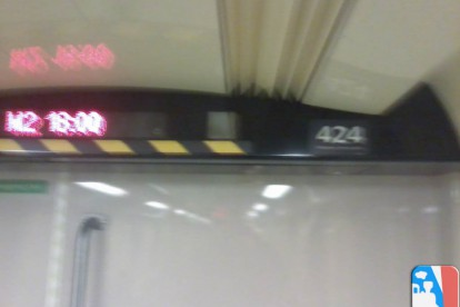 424-es a föld alatt