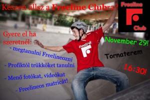 FreeLine Club 2012. november