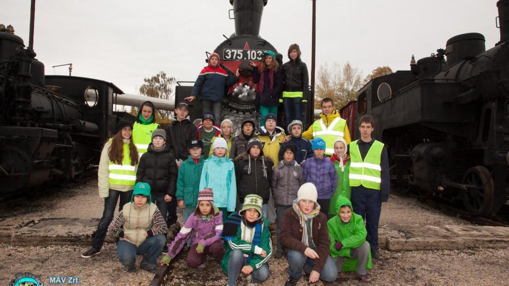 """Füstipark - A """"C"""" osztály csoportképe"""