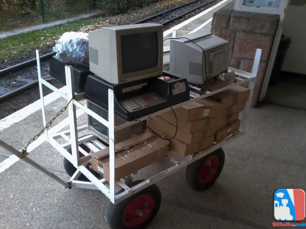 2012. október 31-én a Gyermekvasút Múzeumába költöztek a MAEF3 típusú pénztárgépek.