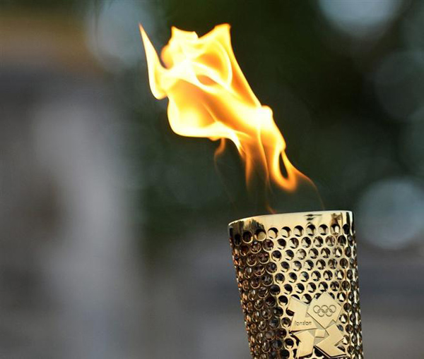 Olimpiai láng, London 2012. Forrás: cultura.hu