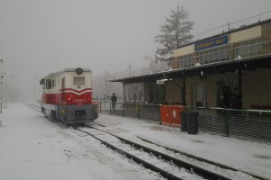 Gyermekvasút 2012. 12. 02., Széchenyi-hegy, Fotó: Kókai Károly