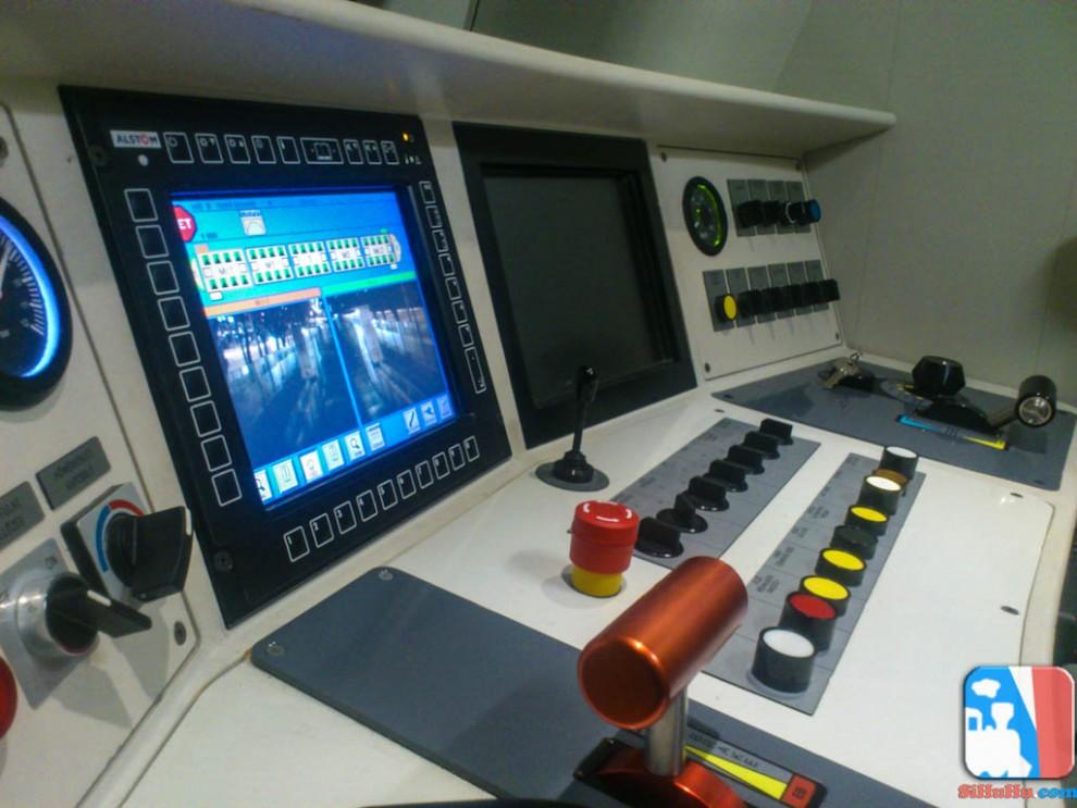 Alstom - Vezetőállás