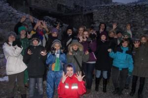 IX. csoport Téli túra