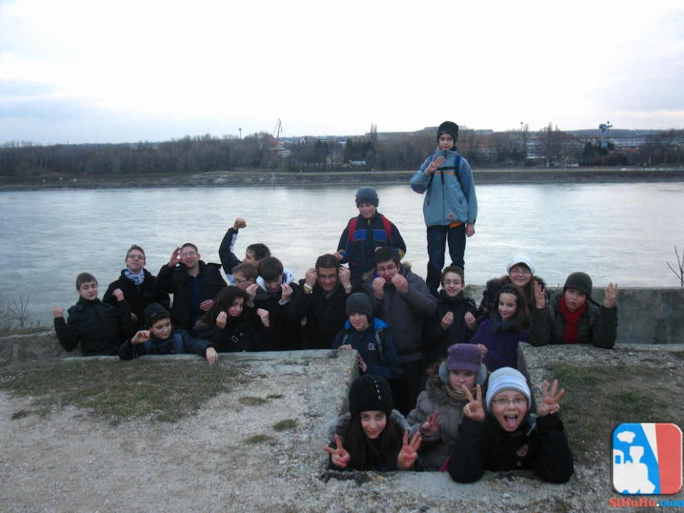 VIII. csoport - Téli túra 2012. Komárom