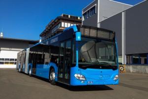 A BKK új citaro busza (Fotó: BKK.hu)