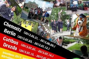 Csereutak 2013. Gyermekvasút - Németország