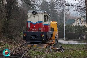Mk45-2002 Gyermekvasút - Remot mozdony visszaérkezése
