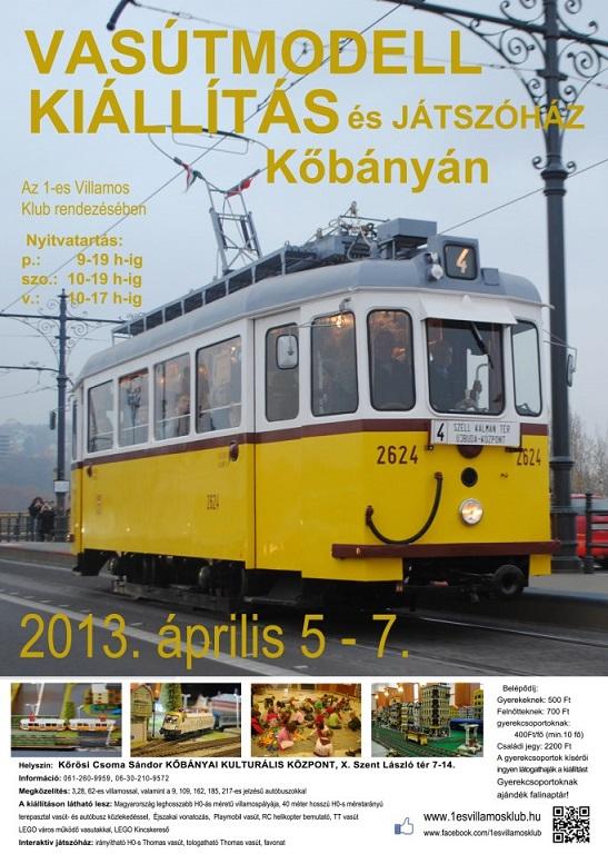 Vasútmodell kiállítás és játszóház - Kőbánya - 2013.