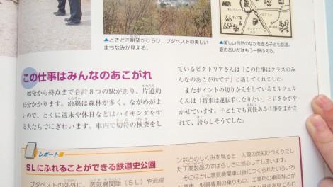 """Japán nyelvű """"A Gyermekvasút és környéke"""" térkép"""