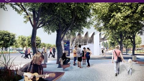 Az új Széll Kálmán tér látványterve