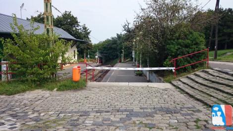 Széchenyi-hegy, Gyermekvasút végállomás lezárva