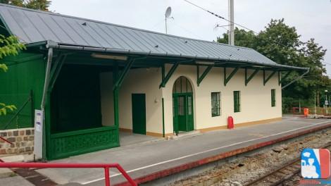 Felújítják a végállomáson található épületet is