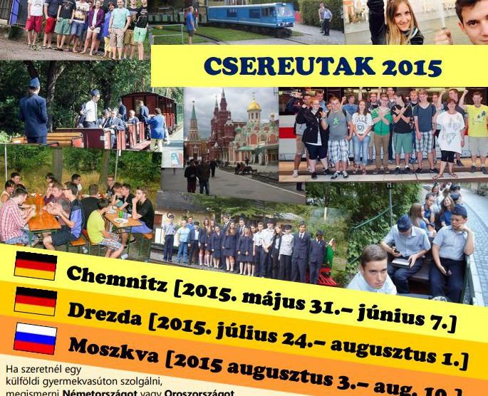 Csereutak 2015