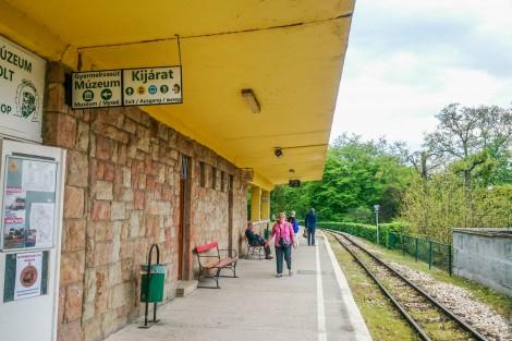 Hűvösvölgy állomás - kijárat