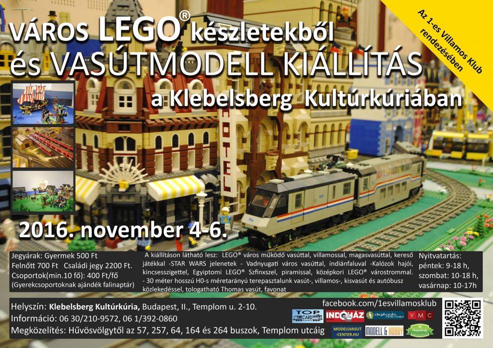 LEGO vasútmodell