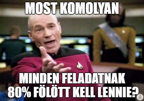 Szakmai MÉM - 80%