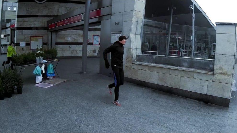 Örs vezér tere - Pillangó utca: Futva, vagy metróval?