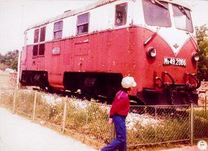 Mk49-2006 Széchenyihegy állomáson kiállítva