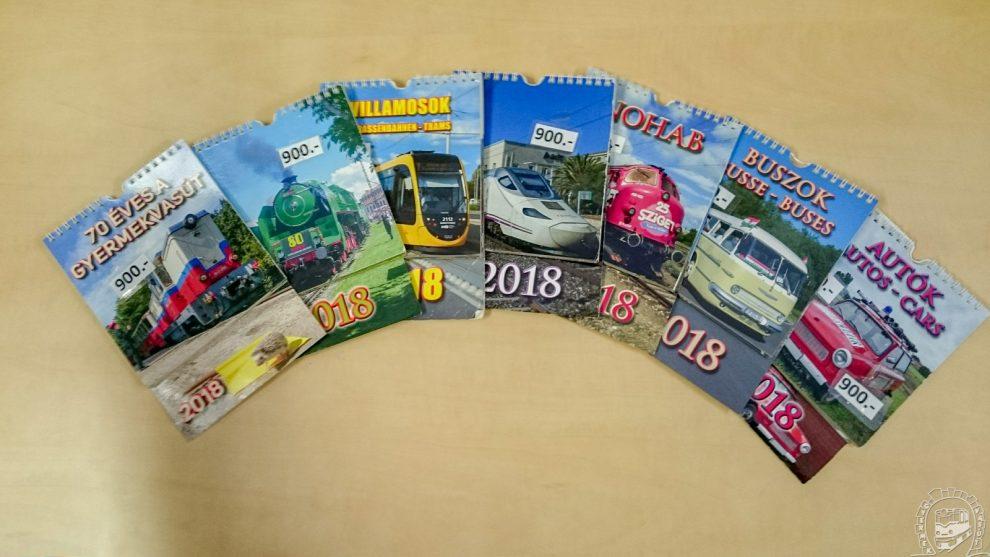 bkk naptár Megjelent a Gyermekvasút 2018 as falinaptára | SiHuHu bkk naptár