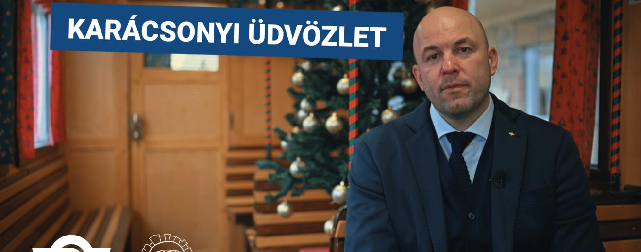 dr. Homolya Róbert karácsonyi köszöntője