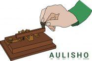 AULISHO - Morse kód
