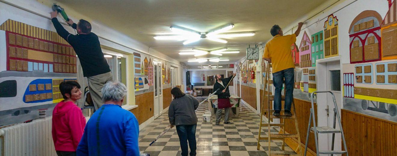 Gyermekvasutas Otthon felújítása
